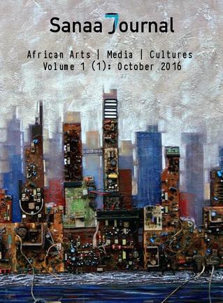 Digital City, Painting by Thobias Marco Minzi